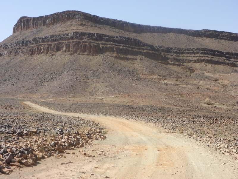 Fuße der Tafelberge
