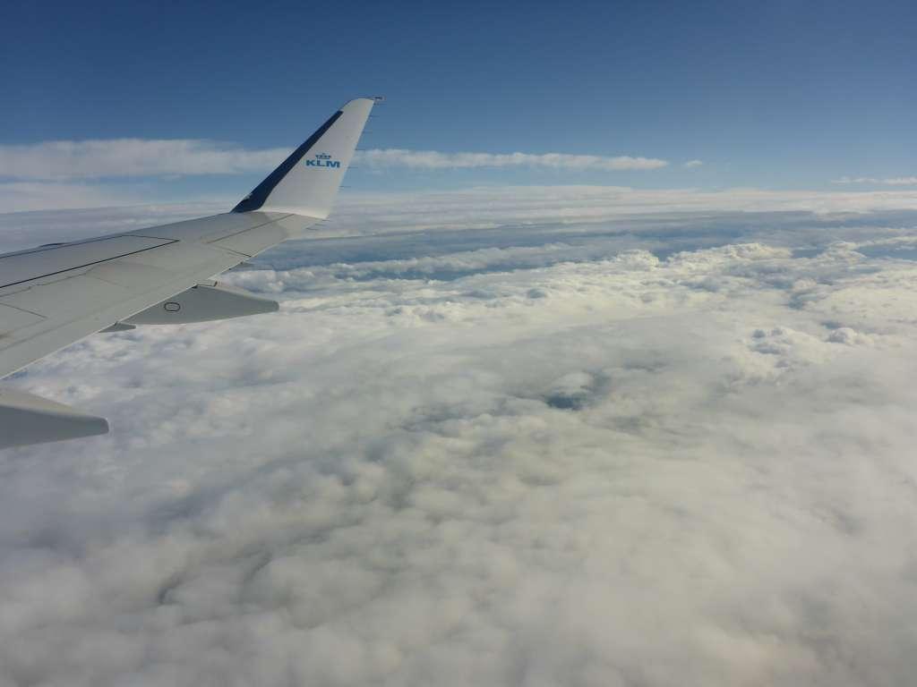 Himmel über Amsterdam