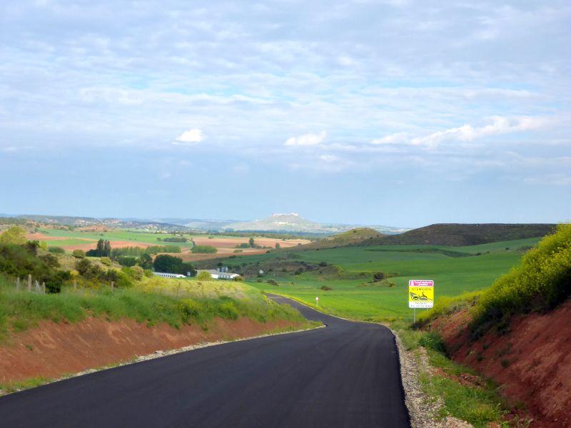 bergige spanische Landschaft
