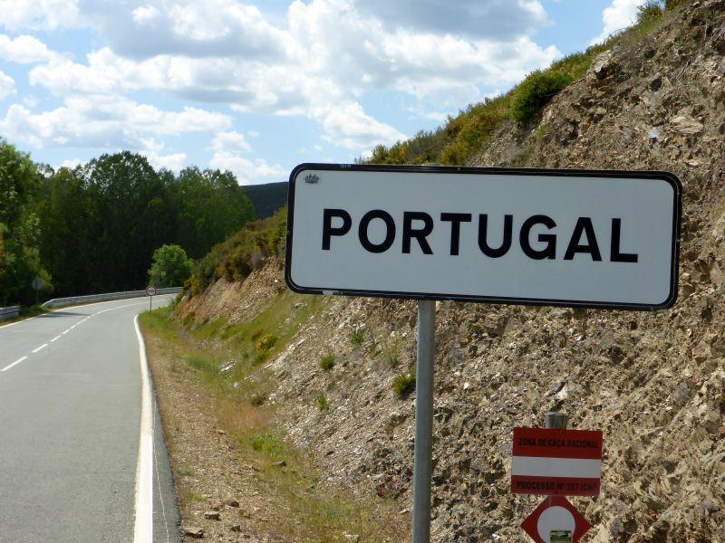 Übergang nach Portugal