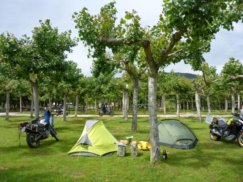 Campingplatz in Isabena
