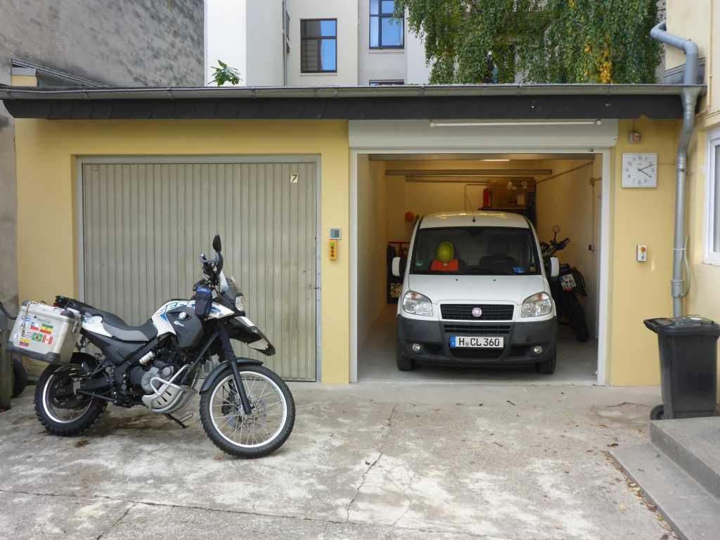neue Garage