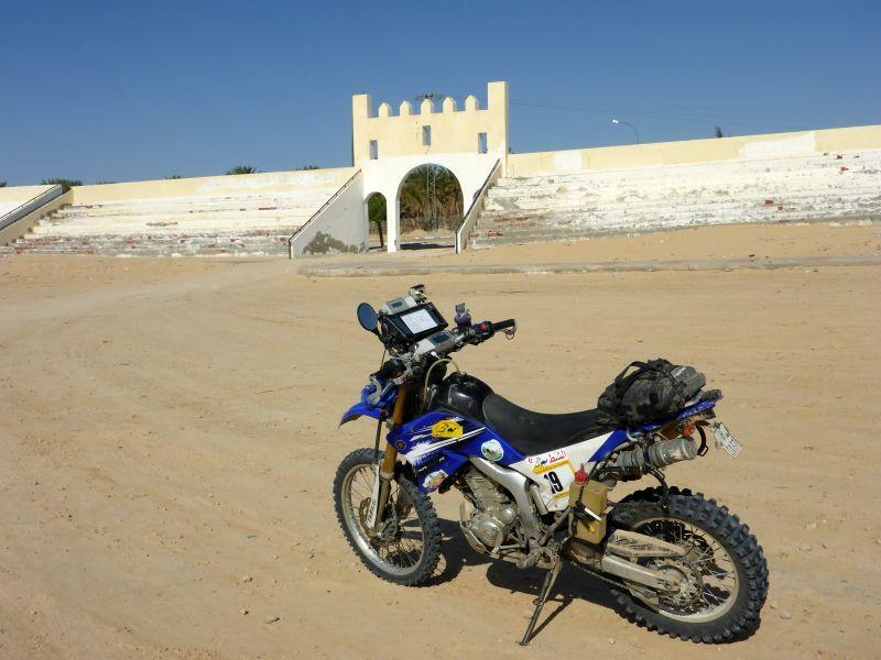 Kamelstadion in Douz