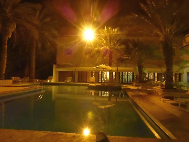 abends im Hotel
