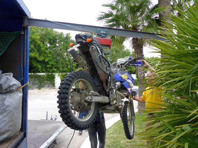 flieg, Motorrad flieg!