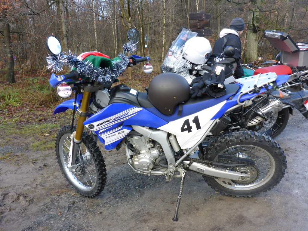 Das kleine nervöse Motorrad?