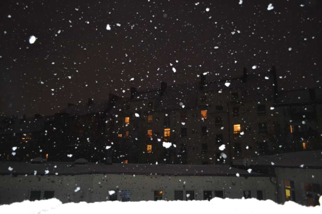 Let ist snow!