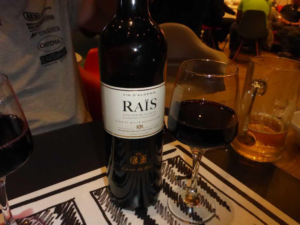 algerischer Rotwein