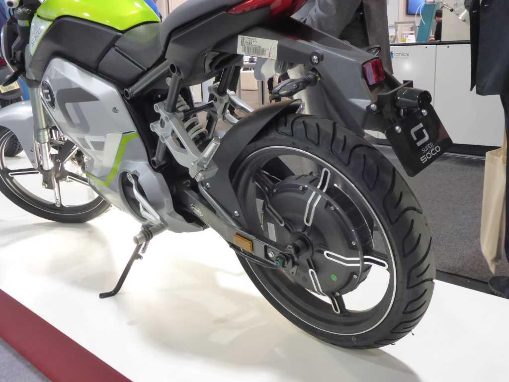 Hinterrad mit Radnabenmotor